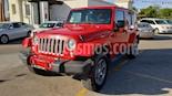 Foto venta Auto usado Jeep Wrangler Sahara 4x4 3.6L Aut (2018) color Rojo precio $579,000