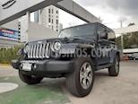 Foto venta Auto usado Jeep Wrangler Sahara 4x4 3.6L Aut (2018) color Azul precio $655,000
