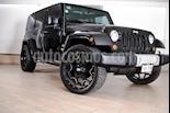 Foto venta Auto usado Jeep Wrangler Unlimited JK Sahara 4x4 3.6L Aut (2013) color Negro precio $489,000