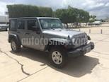 Foto venta Auto usado Jeep Wrangler Unlimited Sport 4x4 3.6L Aut (2016) color Plata Martillado precio $455,000