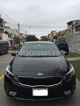 KIA Cerato 1.6L EX Plus Aut  usado (2017) color Negro precio u$s12,000
