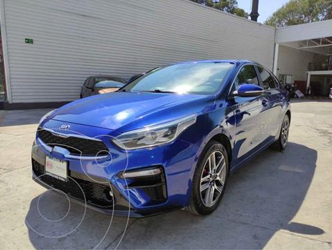 Kia Forte Sedan EX Aut usado (2019) color Azul precio $329,000