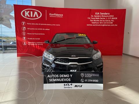 Kia Forte Sedan 2.0L LX usado (2020) color Negro precio $298,000