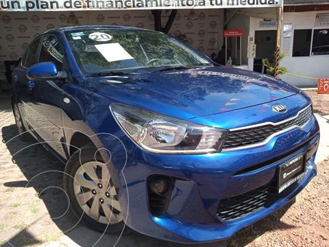 Kia Forte Sedan LX usado (2020) color Azul precio $225,000