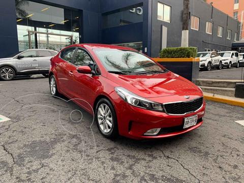 Kia Forte Sedan EX usado (2018) color Rojo precio $234,900