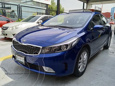 Kia Forte Sedan EX Aut usado (2018) color Azul precio $255,000