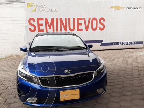 Kia Forte Sedan LX usado (2018) color Azul precio $220,000