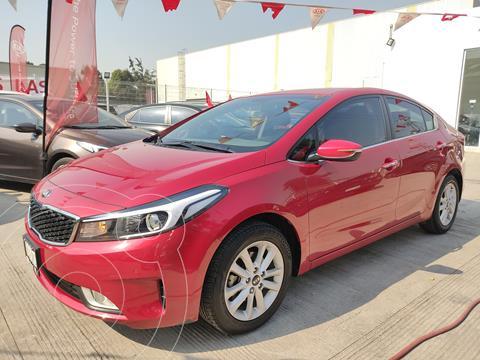 Kia Forte Sedan EX Aut usado (2017) color Rojo precio $188,000