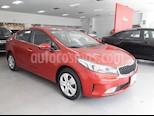 Foto venta Auto usado Kia Forte EX (2018) color Rojo Carmesin precio $290,000