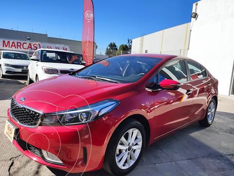 Kia Forte Sedan EX usado (2018) color Rojo precio $228,000