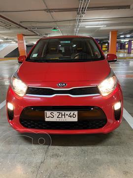 Kia Morning 1.2L EX ABS AC  usado (2019) color Rojo precio $9.300.000