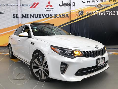 Kia Optima 2.0L Turbo GDI SXL usado (2018) color Blanco precio $370,000