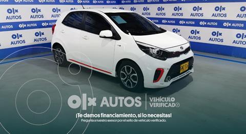 KIA Picanto GT Line 1.2L Aut  usado (2020) color Blanco financiado en cuotas(anticipo $6.000.000)