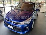 Foto venta Auto usado Kia Rio Hatchback EX Aut (2018) color Azul Azzuro precio $233,000