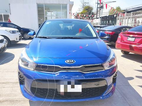 Kia Rio Hatchback EX usado (2020) color Azul precio $270,000