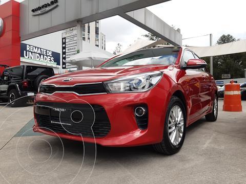 Kia Rio Hatchback EX Aut usado (2018) color Rojo Fuego precio $247,000