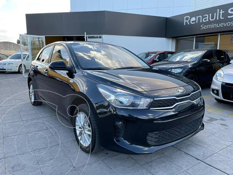 Kia Rio Hatchback 5 pts. HB LX, TM6, VE, f. niebla, RA-15 usado (2018) color Negro precio $225,000