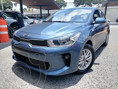Kia Rio Hatchback LX usado (2020) color Azul Azzuro precio $267,000