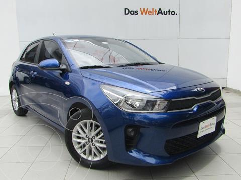 Kia Rio Hatchback LX Aut usado (2020) color Azul precio $279,000