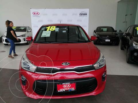 Kia Rio Hatchback EX Aut usado (2018) color Rojo precio $249,000