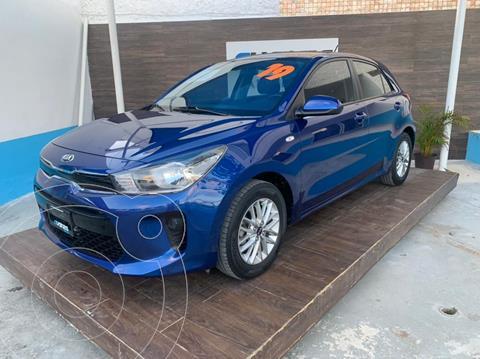 Kia Rio Hatchback EX Aut usado (2019) color Azul precio $248,900