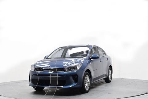 Kia Rio Hatchback LX usado (2019) color Azul precio $230,300