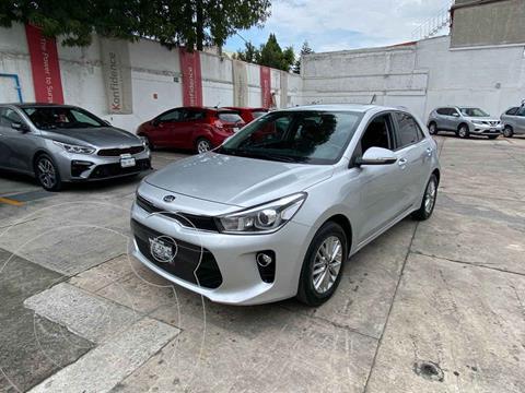 Kia Rio Hatchback EX usado (2018) color Plata precio $259,000