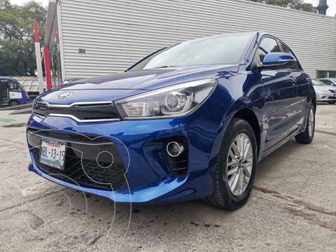 Kia Rio Hatchback EX usado (2018) color Azul precio $259,000