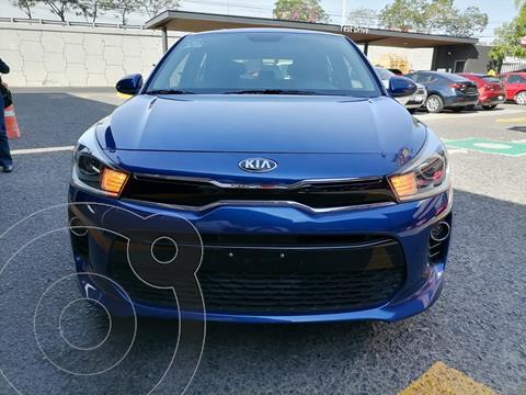 Kia Rio Hatchback EX usado (2019) color Azul Azzuro precio $260,000