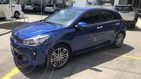 Kia Rio Hatchback EX Pack Aut usado (2019) color Azul Azzuro financiado en mensualidades(enganche $72,685 mensualidades desde $5,706)