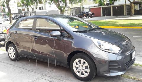 KIA Rio Hatchback 1.2L LX Full usado (2016) color Grafito precio u$s10,800