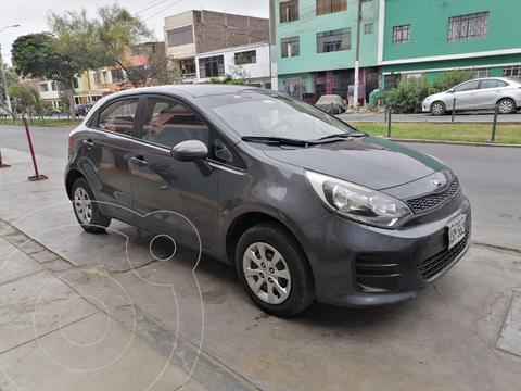 KIA Rio Hatchback 1.2 LX usado (2017) color Gris precio u$s9,800