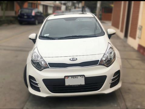 KIA Rio Hatchback 1.4 EX Full Aut Plus  usado (2015) color Blanco precio u$s11,500