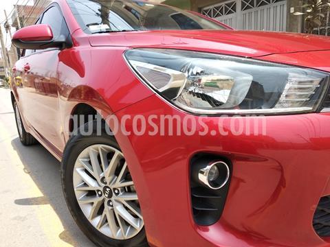KIA Rio Hatchback 1.4L LX Sport  usado (2017) color Rojo Fuego precio u$s12,500