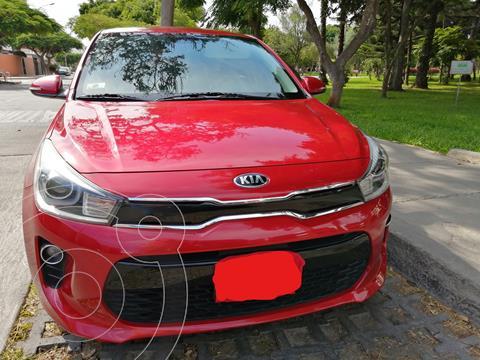 foto KIA Rio Hatchback 1.4L LX Sport  usado (2018) color Rojo Fuego precio u$s14,500