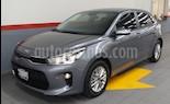 Foto venta Auto usado Kia Rio Sedan 5p EX L4/1.6 Aut (2018) color Gris precio $249,000