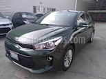 Foto venta Auto usado Kia Rio Sedan EX Aut (2018) color Verde precio $240,000