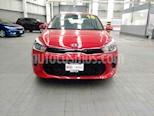 Foto venta Auto usado Kia Rio Sedan EX Aut (2018) color Rojo precio $275,000