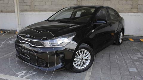 Kia Rio Sedan LX Aut usado (2020) color Negro precio $270,000
