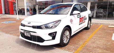 Kia Rio Sedan LX Aut usado (2021) color Blanco precio $280,000