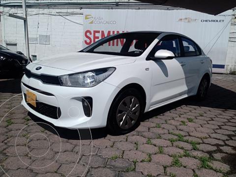 Kia Rio Sedan EX Aut usado (2020) color Blanco precio $280,000