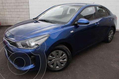 Kia Rio Sedan L usado (2020) color Azul precio $239,000
