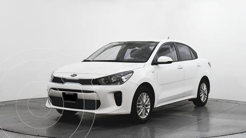 Kia Rio Sedan LX Aut usado (2020) color Blanco precio $261,000