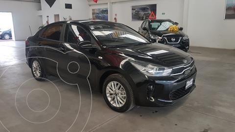 Kia Rio Sedan LX Aut usado (2020) color Negro precio $269,000