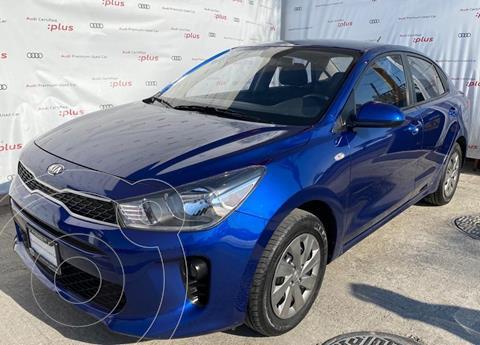 Kia Rio Sedan L usado (2020) color Azul precio $229,000