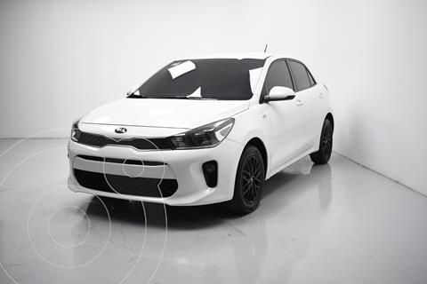 Kia Rio Sedan LX usado (2018) color Blanco precio $180,000