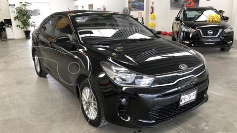 Kia Rio Sedan EX Aut usado (2020) color Negro precio $269,000