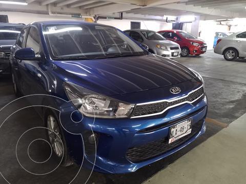 Kia Rio Sedan LX usado (2020) color Azul financiado en mensualidades(enganche $50,000 mensualidades desde $5,237)