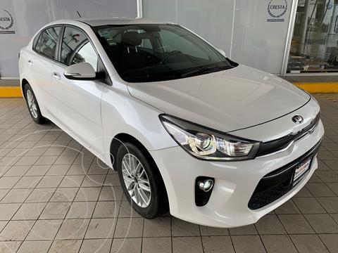 Kia Rio Sedan EX usado (2018) color Blanco precio $242,900