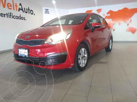 Kia Rio Sedan EX usado (2017) color Rojo precio $185,000